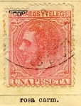 Stamps Spain -  Alfonso XII Ed 1879