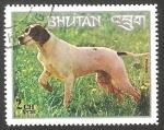 Sellos de Asia - Bhután -  399 - Perro de raza