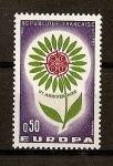 Stamps France -  Tema Europa.
