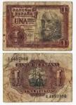 monedas del Mundo : Europa : España :  Una Peseta