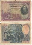 monedas del Mundo : Europa : España :  Cincuenta pesetas