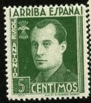 sellos de Europa - España -  Jose Antonio Primo de Rivera