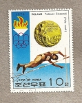 Sellos de Asia - Corea del norte -  Medallas Oro Juegos Olímpicos Montreal