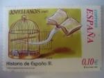 Stamps Spain -  3921- Correspondencia Epistolar Escolar. Historia de España III- Jovellanos 1787