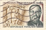 Stamps France -  Organisation internationale du travail
