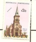 Sellos del Mundo : Africa : Angola : IGLESIA