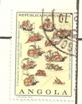 Stamps Angola -  PEDRO ALVAREZ CABRAL