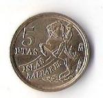 monedas de Europa - España -  06B - MENORCA RESERVA DE LA BIOSFERA 1997