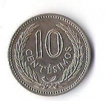 monedas de America - Uruguay -  02B - ARTIGAS 1959