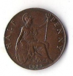 monedas de Europa - Reino Unido -  01B - INGLATERRA GEORGIVS V 1923