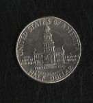 monedas de America - Estados Unidos -  Kennedy / Bicentenario. / Reverso