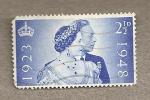 Stamps United Kingdom -  Aniversario Reyes