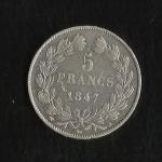 monedas del Mundo : Europa : Francia :  Luis Felipe I / (reverso)