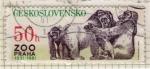 Sellos del Mundo : Europa : Checoslovaquia :  Zoo Praha