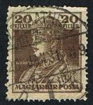 Stamps Europe - Hungary -  IV KAROLY-MAGYAR KIR POSTA