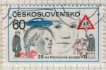 Sellos del Mundo : Europa : Checoslovaquia :  25 let Pomocné straze