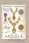 Stamps Africa - Angola -  ORDEN MILITAR SANTIAGO DE ESPADA