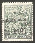 Sellos del Mundo : Europa : Checoslovaquia :  338 - 20 Anivº de las batallas en que participaron legionarios checoslovacos en Francia e Italia