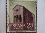 Sellos de Europa - España -  Ed:1394- XII Cent.de la Fundación de OVIEDO- ¨Santa María del Naranco