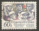 Stamps Czechoslovakia -  2314 - 10 Anivº de la Federación Checoslovaca