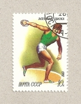Stamps Russia -  Lanzador de disco