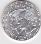 monedas del Mundo : Europa : España :  PRESIDENCIA DE LA UNIÓN EUROPEA-JUAN CARLOS Y SOFÍA