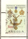 Sellos del Mundo : Africa : Angola : ORDEN MILITAR