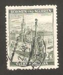 Sellos de Europa - Checoslovaquia -  bohemia y moravia - 31 - Vista de Olomouc