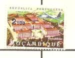 Sellos de Africa - Mozambique -  CORREO AEREO