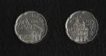 monedas de Europa - España -  Juan Carlos I / Puerta de Alcala.