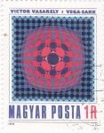Stamps Hungary -  VICTOR VASARELY I VEGA-SAKK artista