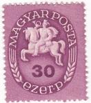 Sellos de Europa - Hungría -  CORREO A CABALLO