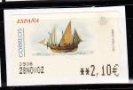Sellos de Europa - España -  Jabeque 2002-10 (778)