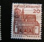 Stamps Germany -  Lorsch/ Hessen