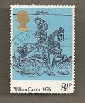 Stamps United Kingdom -  William Caxton