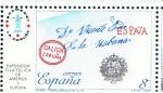 Sellos de Europa - España -  Edifil  2912  Exposición Filatélica de España y América Espamer¨87.