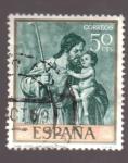 Sellos de Europa - España -  san jose- alonso cano- día del sello