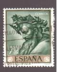 Sellos de Europa - España -  triunfo de baco- ribera- día del sello