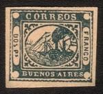 Stamps Argentina -  barquitos