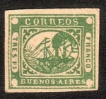 Sellos de America - Argentina -  barquitos