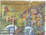 Stamps Portugal -  500 AÑOS DEL DESCUBRIMIENTO DE BRASIL