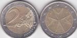 monedas de Europa - Malta -  ESTRELLA