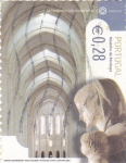 Stamps of the world : Portugal :  MONASTERIO DE ALCOBAÇA