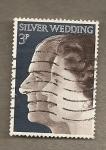 Stamps United Kingdom -  Bodas de Plata de Soberanos