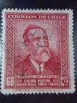Sellos de America - Chile -  Heinrch Von Stephan 1831-1897- ¨Unión Postal Universal  1874 al 1949¨