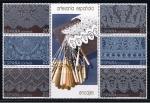 Stamps Spain -  Edifil  3016-21  Artesanía Española.  Encajes.