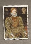 Sellos de Europa - Reino Unido -  Reina Isabel I