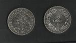 monedas del Mundo : Asia : Líbano :  Banco del Libano