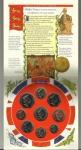 monedas de Europa - Reino Unido -  Cartera 1997 / Anverso