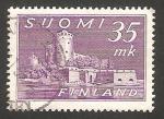 Stamps Finland -  344 - Fortaleza de Olavinlinna